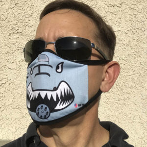 Jim wearing A-10 Mask