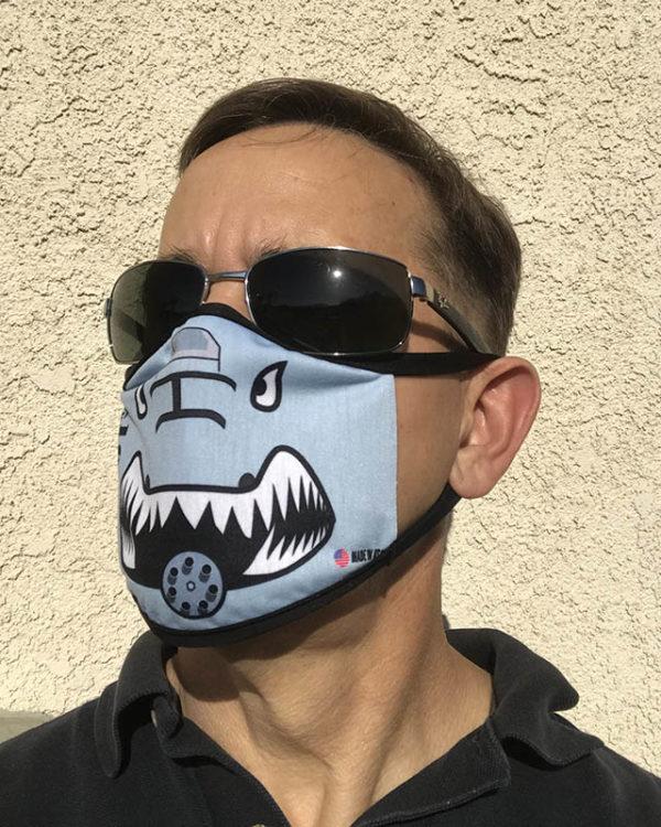Jim wearing A-10 Mask